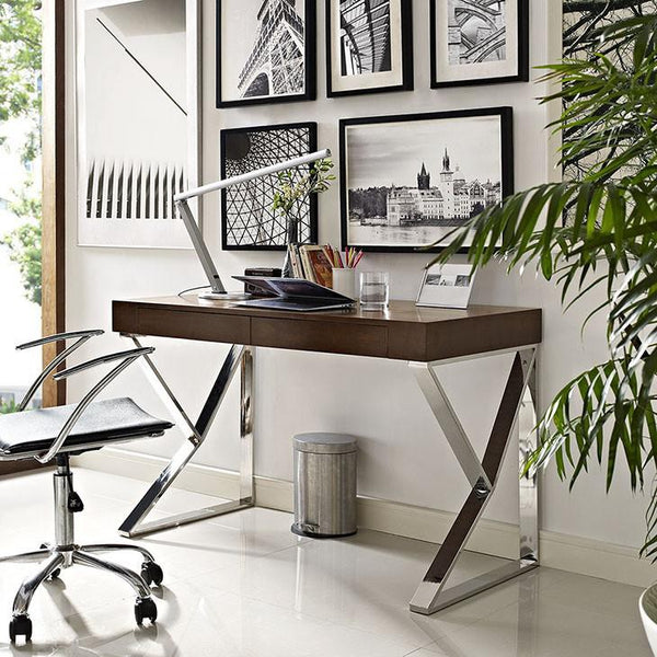 Slope Office Desk - living-essentials