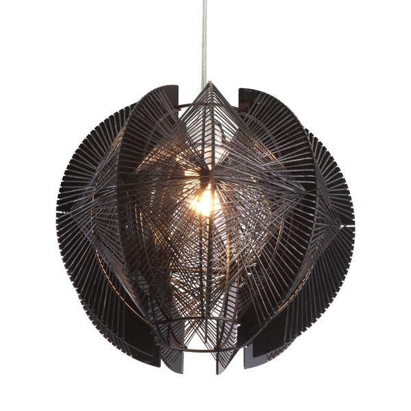ET Black Single Ceiling Lamp - living-essentials
