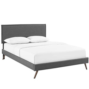 Cambrie King Platform Bed Free Shipping