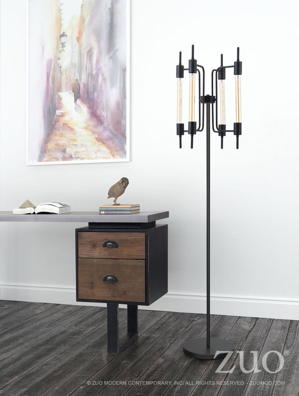 Thomas Rust Floor Lamp - living-essentials