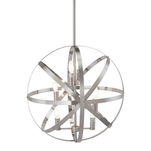 Atomic Satin Nickel Ceiling Lamp Lamps Free Shipping