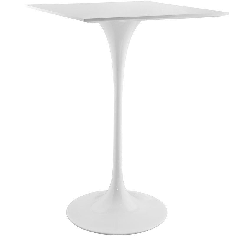"Tulip Style 28"" Square Bar Table - living-essentials"