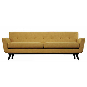 Queen Mary Mustard Yellow Linen Sofa Sofas Free Shipping
