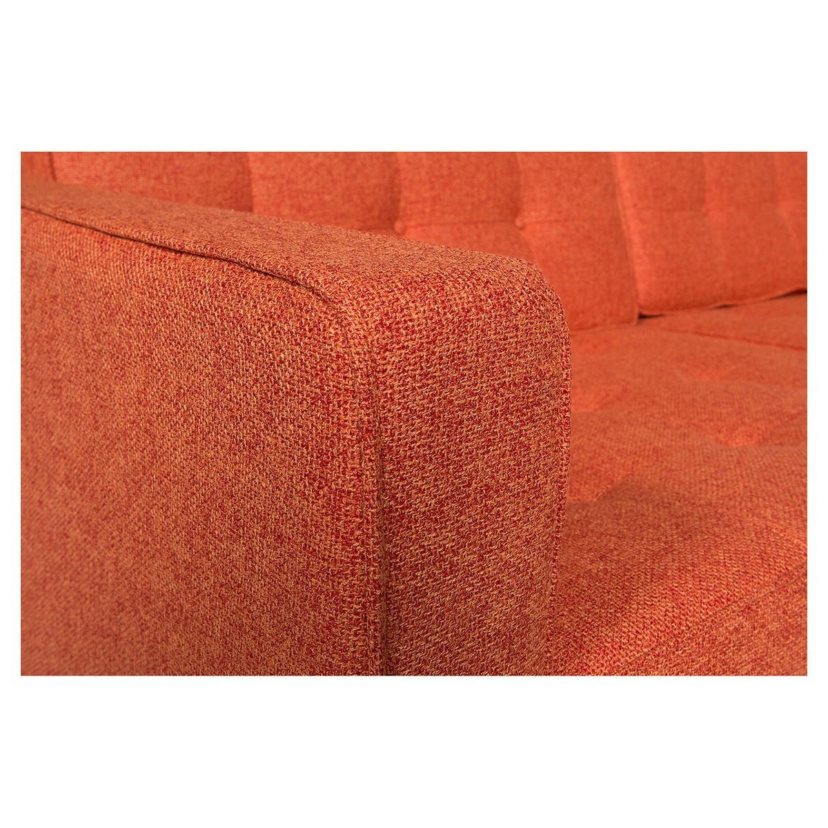 Florence Knoll Wool Style Sofa Free Nationwide Shipping