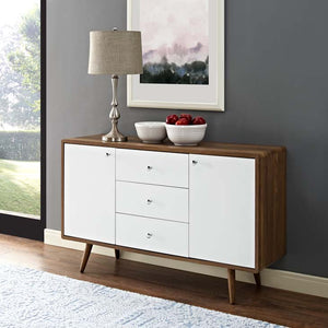 Truman Mid-Century Sideboard Console Table Free Shipping