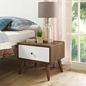 Truman Mid Century Nightstand/side-Table Nightstand Free Shipping