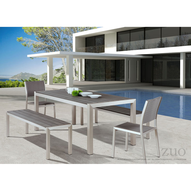 Cosmo Outdoor Double Bench - living-essentials
