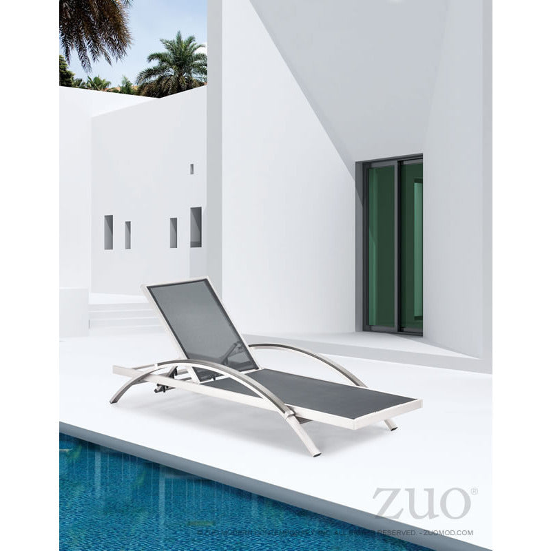 Modern Outdoor Chaise Lounge - living-essentials