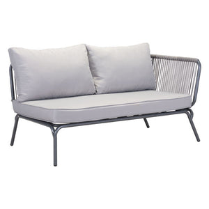 Purity Outdoor Raf Gray Double Loveseat Sofas Free Shipping