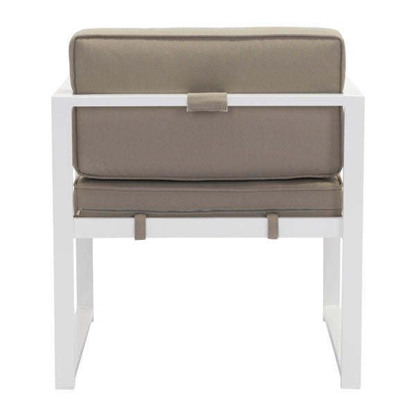 Coco Beach Taupe Outdoor Armchair - living-essentials