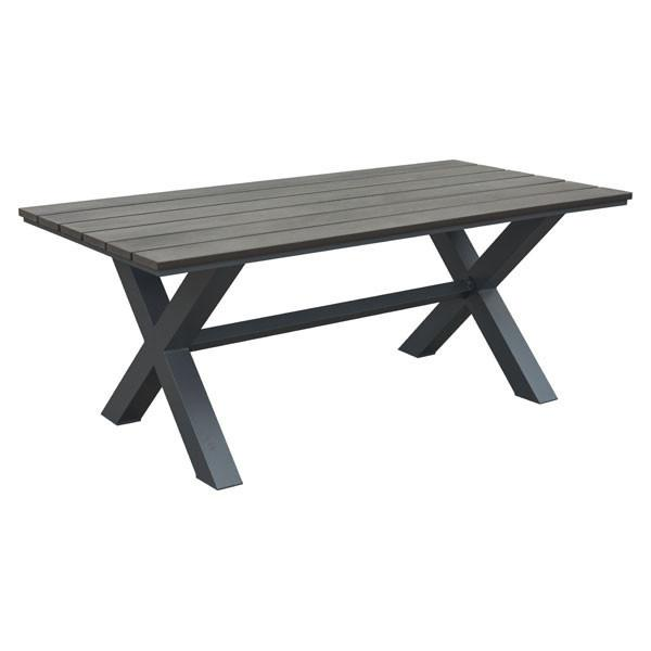 Shelly Brown Outdoor Dining Table - living-essentials