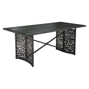 Sunny Terra Brown Outdoor Dining Table Free Shipping