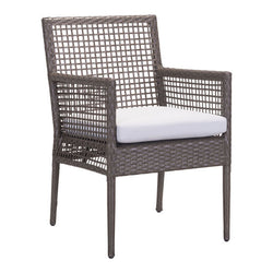 Kendall Cocoa Outdoor Dining Chair - living-essentials