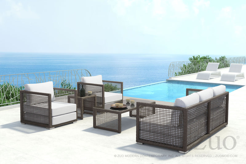 Kendall Cocoa Outdoor Sofa - living-essentials