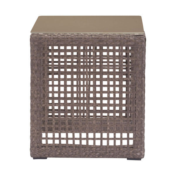 Kendall Cocoa End Table - living-essentials