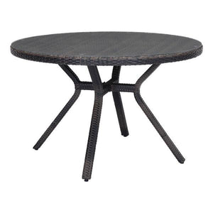 Smith Brown Outdoor Dining Table Free Shipping