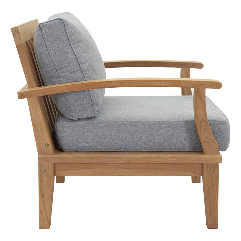 Mildew Outdoor Patio Teak Armchair - living-essentials