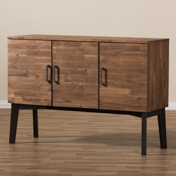 Sereniti 3-Drawer Sideboard Buffet - living-essentials