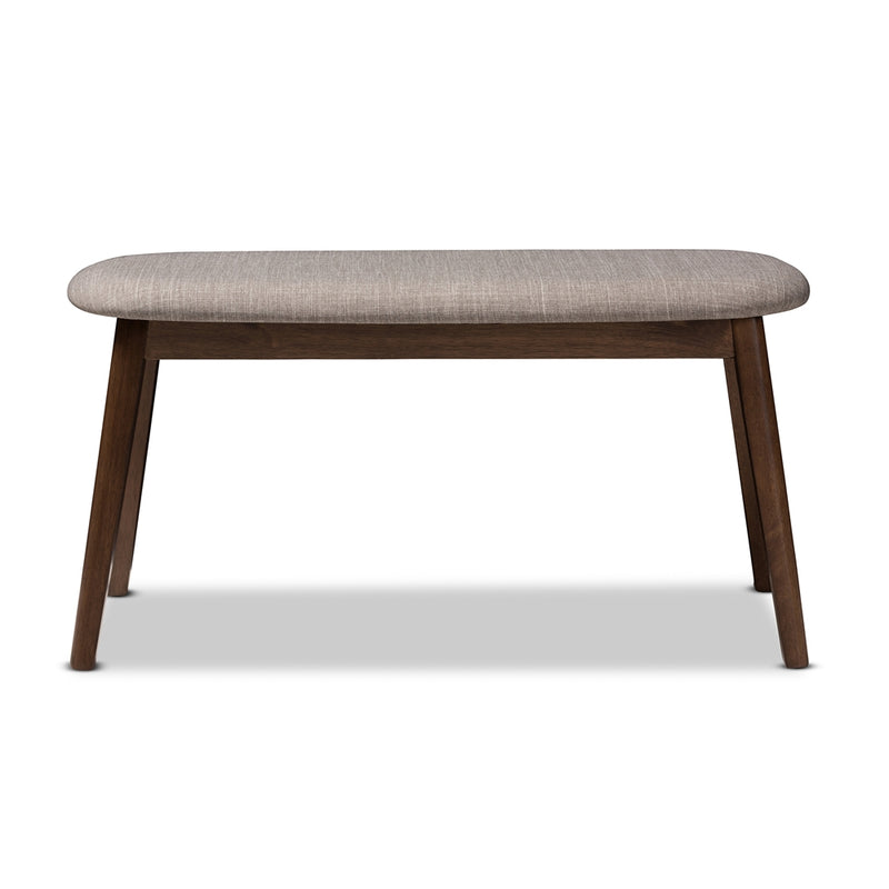 Ean Walnut Wood Bench - living-essentials