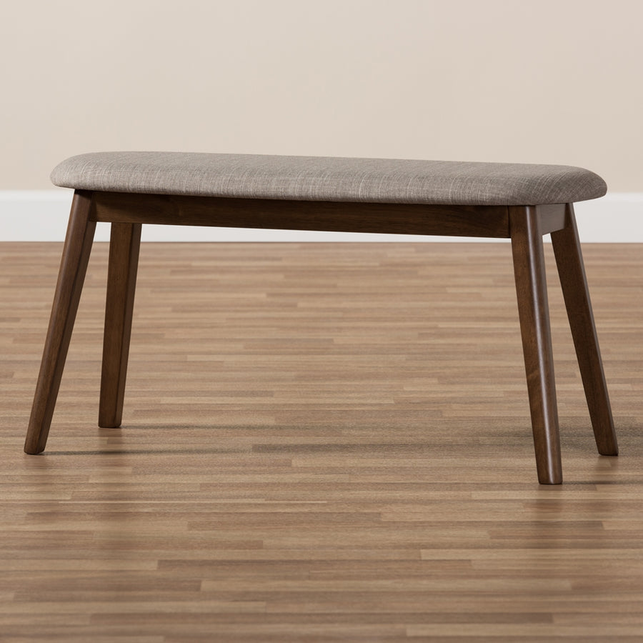 Ean Walnut Wood Bench