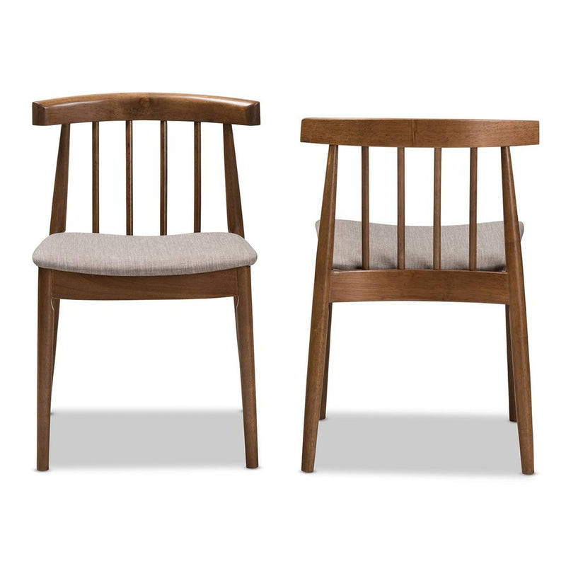 Wylie Walnut Dining Chair Set of 2 - living-essentials