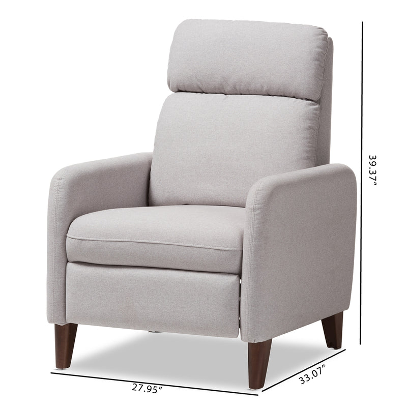 Casen Grey Lounge Chair - living-essentials