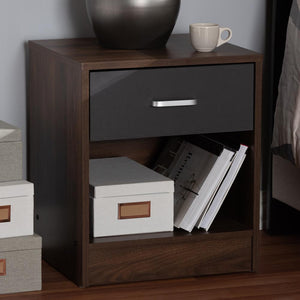 Harmony 1-Drawer Nightstand