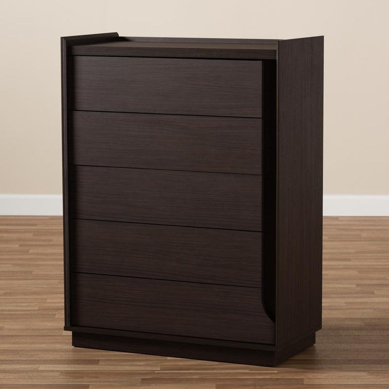 Langston 5-Drawer Chest - living-essentials