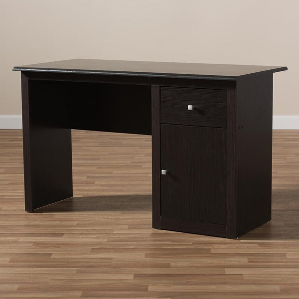Benito Wenge Brown Finished Desk - living-essentials