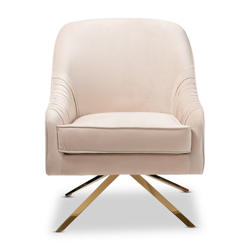 Amalia Glamour Lounge Chair - living-essentials