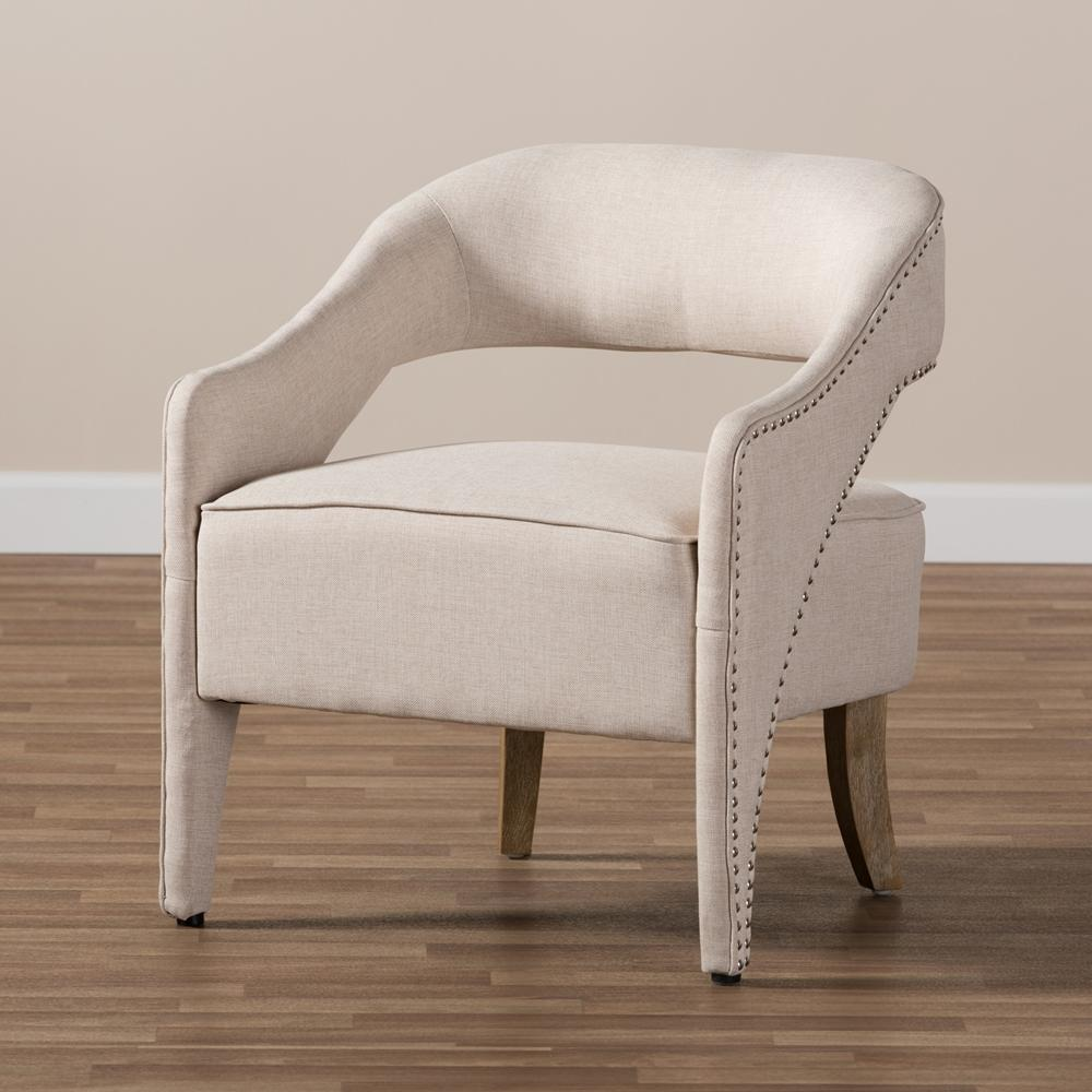 Foster Beige Lounge Chair