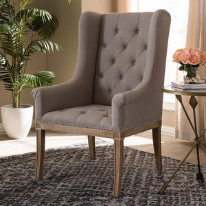 Cedar French Beige Lounge Chair