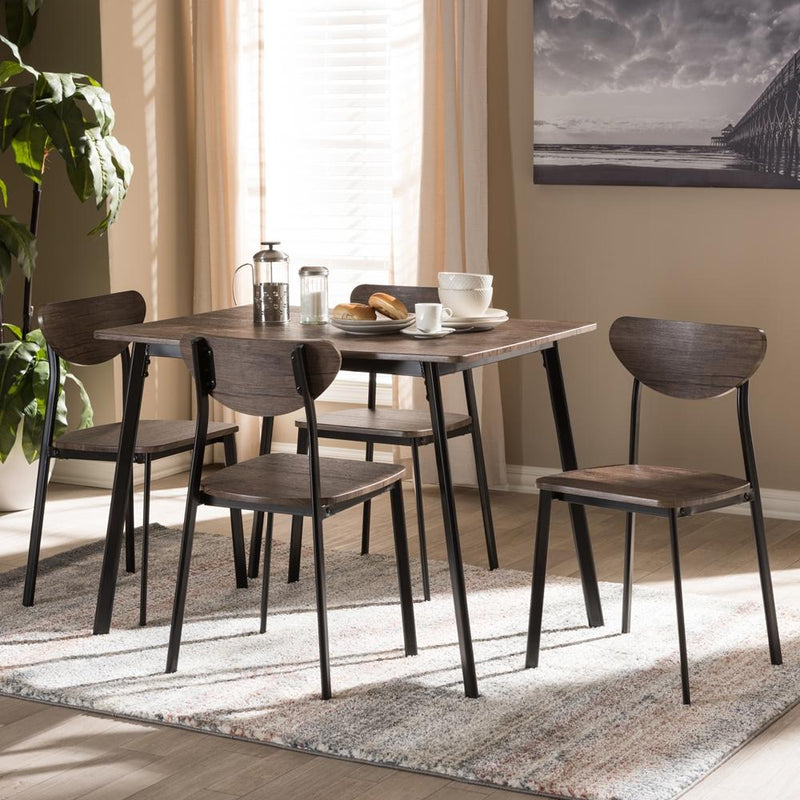 Oriana 5-Piece Dining Set - living-essentials
