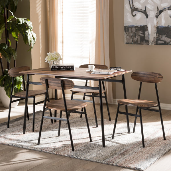 Damani 5-Piece Dining Set - living-essentials