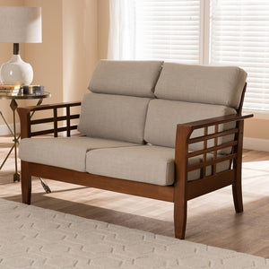 Laila High Back 2-Seater Loveseat