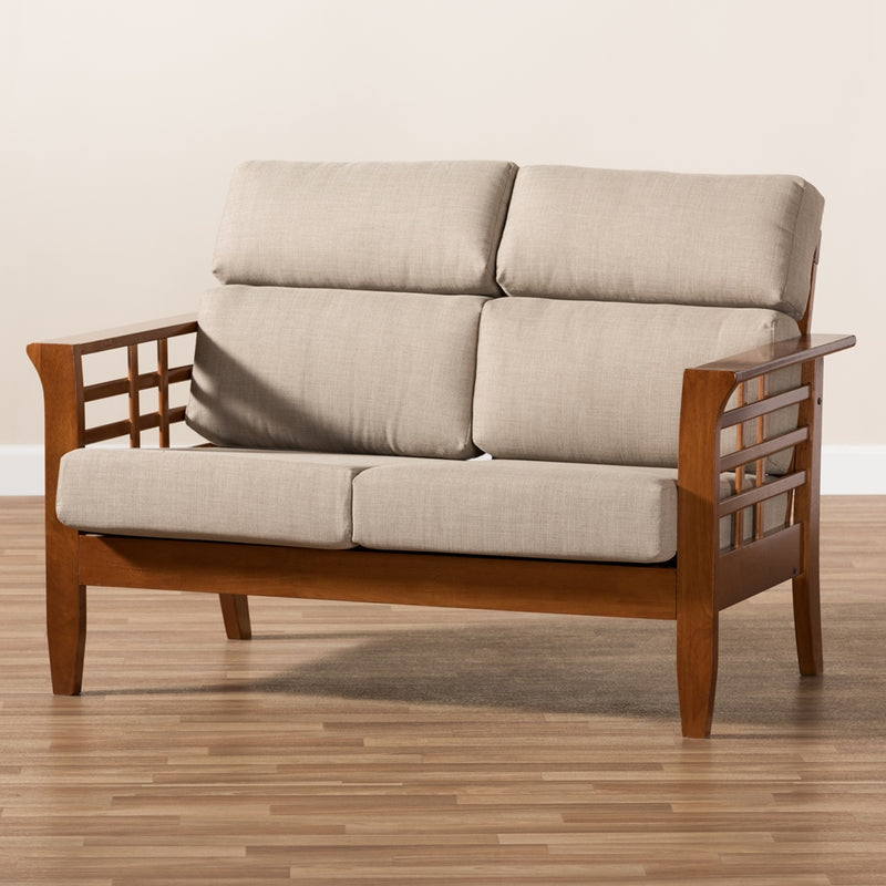 Laila High Back 2-Seater Loveseat - living-essentials