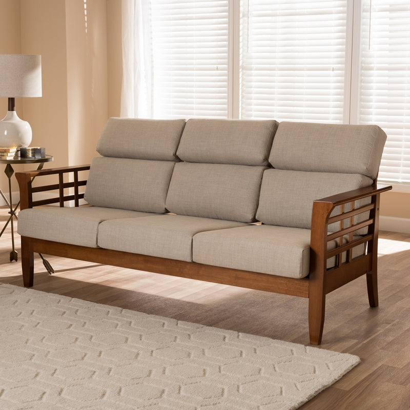 Laila High Back 3-Seater Sofa - living-essentials
