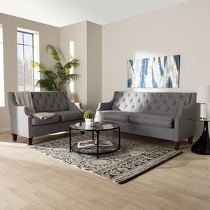Celeste Grey 2-Piece Living Room Set