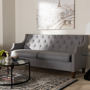 Celeste Grey 3-Seater Sofa