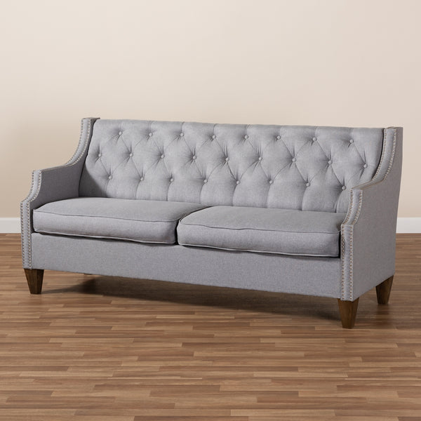 Celeste Grey 3-Seater Sofa - living-essentials