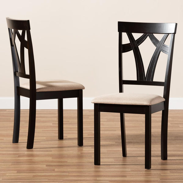 Sybil Mid-Century Dining Chair Set of 2 - living-essentials