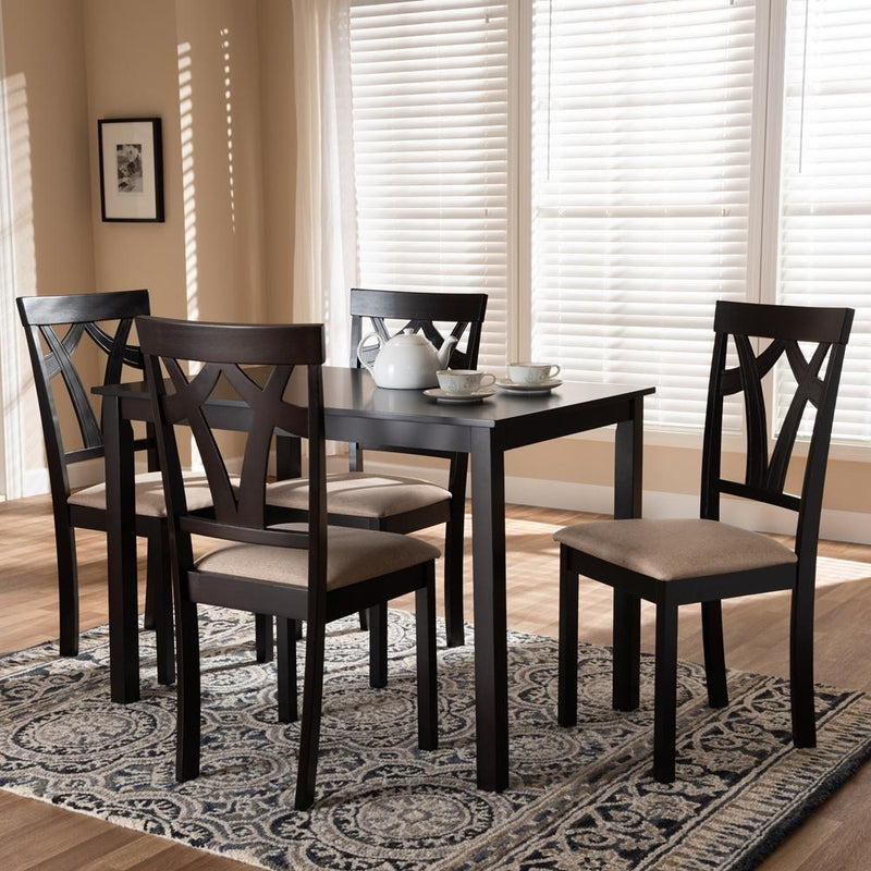 Sybil 5-Piece Dining Set - living-essentials