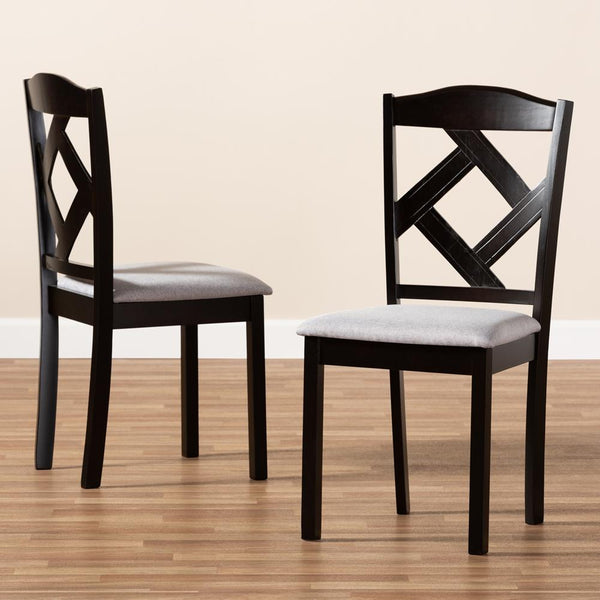Rusty Dining Chair Set of 2 - living-essentials
