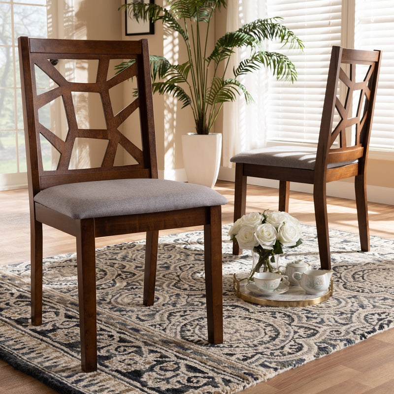 Abbott Mid-Century Dining Chair Set of 2 - living-essentials