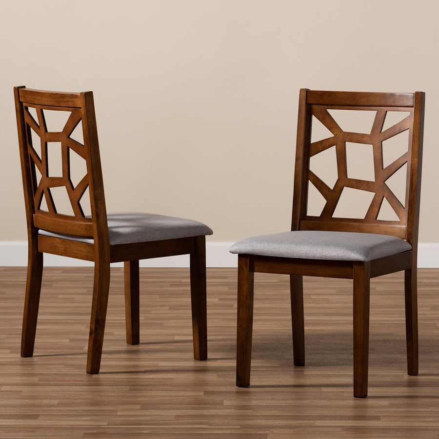 Abbott Mid-Century Dining Chair Set of 2