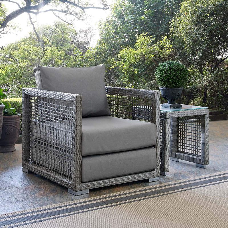 Allure Rattan Outdoor Patio Armchair - living-essentials