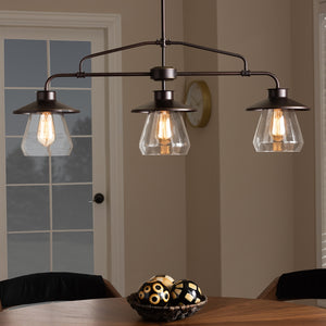 Rosie Vintage 3-Light Kitchen Island Pendant Light - living-essentials