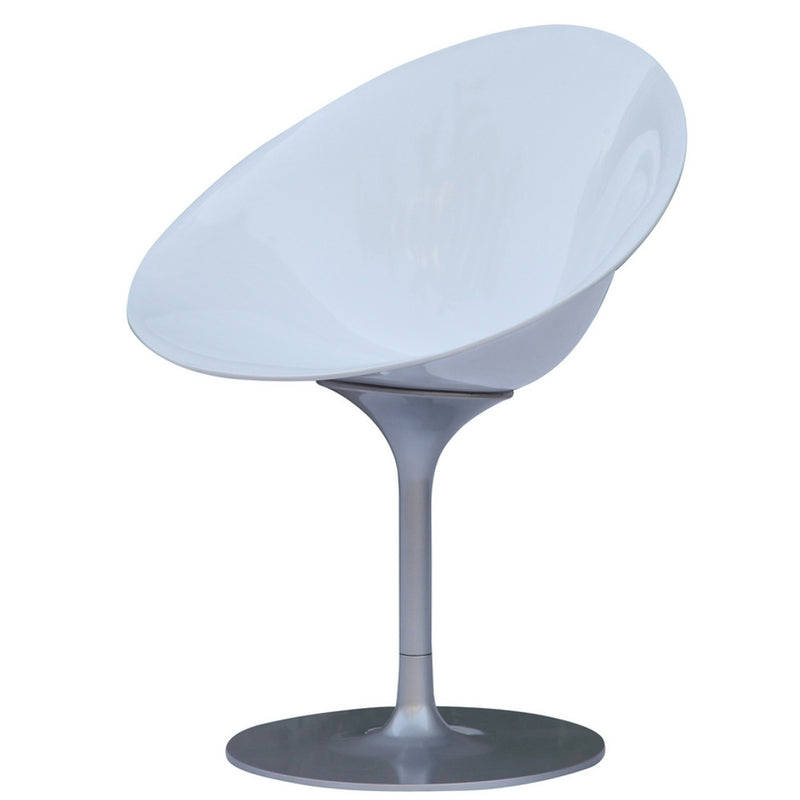 Starck Style Ero S Swivel Dining Chair - living-essentials