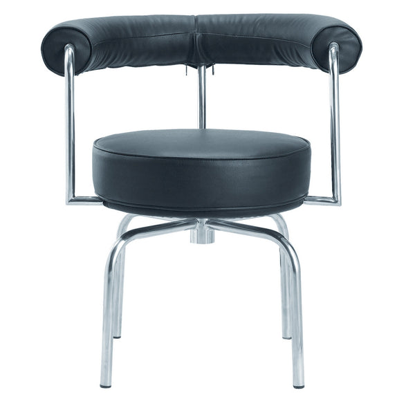 LC7 Style Swivel Armchair - living-essentials