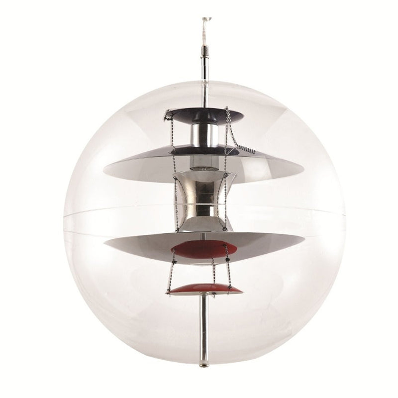 Verner Panton Style VP Globe Pendant Light - living-essentials